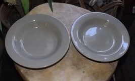 "Ralph Lauren Stoneware Bowl from Italy Set of Two 9"" - $18.00"