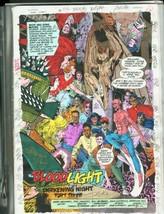Team Titans #9-DC Color Guides Production Art - $272.81
