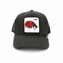 Mens Goorin Bros Hat Lady Ladybug Black Women Unisex Animals - $38.90
