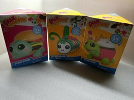 Puzoodles Puzzle Pets Caterpillar Roll Slow Food Dinocake Lot of 3 - $29.69