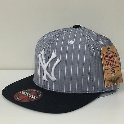 American Needle MLB New York Yankees Demo Strapback Adjustable Cap Hat 12824