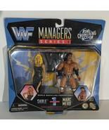 WWE WWF 1997 Jakks Managers Series 1 Sable & Marc Mero Figures in Package - $19.79