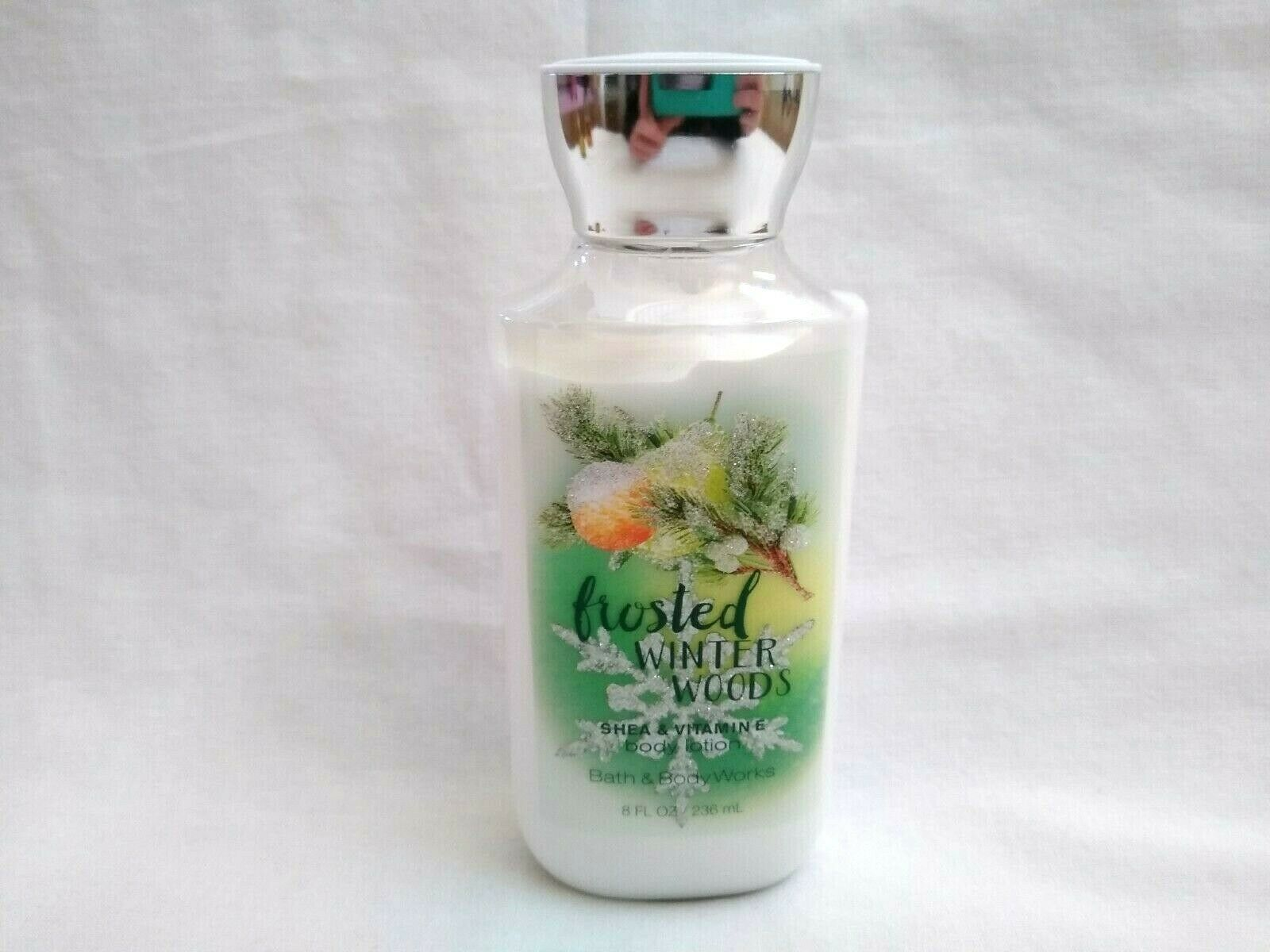 Primary image for Bath & Body Works FROSTED WINTER WOODS Body Lotion 8 oz 75% full