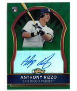 Anthony Rizzo signed 2011 Topps Finest Certified Autograph Rookie MLB Ca... - $164.95