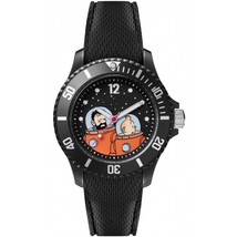 Tintin and Capt. Haddock Moon watch Medium 82435 Official Moulinsart product
