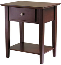 Winsome Wood 94922 Shaker  Table, Antique Walnut - $137.74