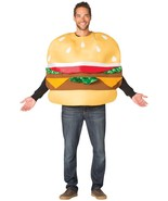 Slider Costume Adult Food Cheeseburger Halloween Party Unique Cheap GC7575 - $54.99