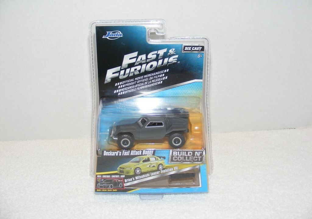 Primary image for NIP JADA TOY FAST & FURIOUS BUILD N COLLECT DECKER'S FAST ATTACK DIE CAST CAR