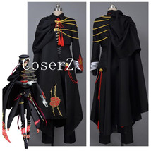 Code Geass Lelouch Cosplay Code Geass Lelouch of the Rebellion Code Black in Ash - $129.00