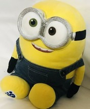 "Build A Bear Despicable Me Movie Minions Bob Talking Plush Stuffed 12"" E... - $38.56"