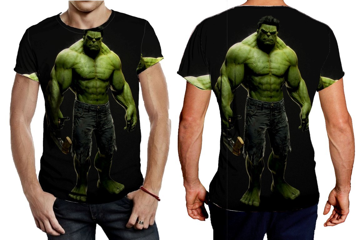 Primary image for Tee Men's hulk full black and green poster
