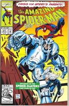 the Amazing Spider-Man Comic Book #371 Marvel Comics 1992 NEAR MINT - $3.50