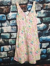 Karin Stevens Women's Dress Sleeveless V-neck Colorful Summer Dress - $10.44
