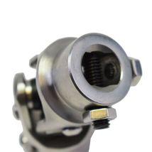 "Forged Stainless Steel Steering Shaft U-JOINT 5/8""-36 SPLINE TO 3/4"" DD Vega Box image 9"