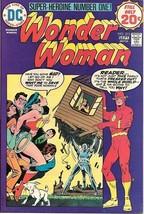 Wonder Woman Comic Book #213, DC Comics 1974 VERY FINE+ - $21.20