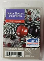 Better Homes & Gardens Holiday Edition Cherry & Balsam Wax Cubes 2.5 oz - $5.93