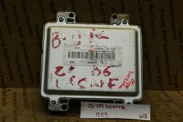 06-08 Buick Lucerne Engine Control Unit 12600930 ECU Module 613-12E3 - $9.99