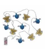 Hanukkah Character String Lights Decorations. Light up Chanukah Menorah ... - $17.89