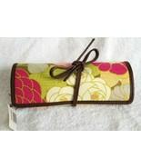 Spartina Daufuskie Island Camellia Jewelry Case Wrap Roll Tie NWT Linen ... - $14.95