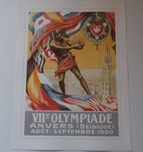 1920 Olympic Games Poster Print - VII Olympiade Anvers (Belgique) Belgiu... - $17.77