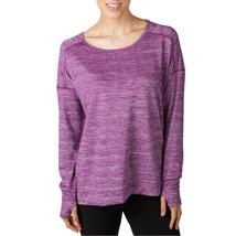 Jockey Woman's Long Sleeve / Jersey Tunic Red Violet Melange L - $19.68