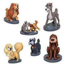 Disney Lady and the Tramp 6 Piece Figure Play Set NEW - $22.37
