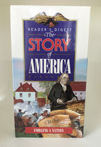 NEW Reader's Digest THE STORY OF AMERICA Forging A Nation • VHS Tape 199... - $6.88