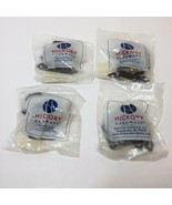 4 Packages of Hickory Hardware P144-BL Surface Self-Closing Flush Hinges... - $19.34