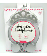 new Silver Princess Crown Headphones for Girls by Vivitar for iPhone iPa... - $15.76