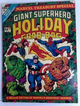 Marvel Treasury Edition Giant Superhero Holiday Grab-Bag 1974 Hulk Spiderman ... - $50.00