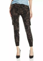James Jeans Camouflage Boyfriend Cargo Combat Skinny Ankle Pant Size 26 - $65.44