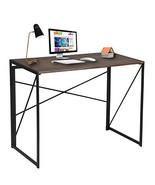Writing Computer Desk Modern Simple Study Desk Industrial Style Folding ... - $63.75