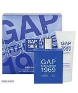 New Gap 1969 Electric 2 Piece Set Edt 1.7 FL.Oz.+ Body Wash 1.7 FL.Oz.Fo... - $21.77