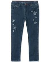 Tommy Hilfiger Girls Glitter Star Skinny Jeans Size 2T - $21.55