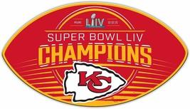 """Kansas City Chiefs Super Bowl LII Champion 12"""" Magnet Fremont Die - $19.99"""