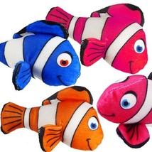 "Plush Clown Fish 6.5"" Stuffed Colorful Sea Animal Assortment (LOT OF 10X) - $32.62"