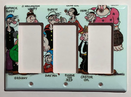 Popeye Olive Comics Light Switch Power Outlet Wall Cover Plate Home Decor image 6