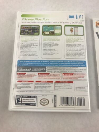 Wii Fit Plus (Nintendo, 2009) Video Game Complete