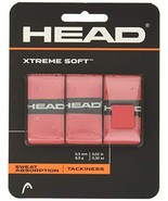 HEAD Xtreme Soft Racquet Overgrip - Tennis Racket Grip Tape - 3-Pack, Red - $14.76