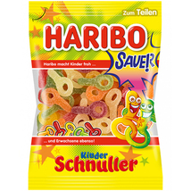 Haribo - Kinder Schnuller (Pacifiers) - Sour 250g  - $3.25