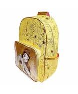 Disney Store Princess Belle Backpack  Gold Book Bag 2020 - $79.95