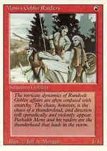 Magic: The Gathering 3rd Edition - Mon's Goblin Raiders - $0.25
