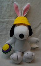 """Peanuts SNOOPY AS EASTER BUNNY W/ EGG 7"""" Plush Stuffed Animal TOY - $14.85"""