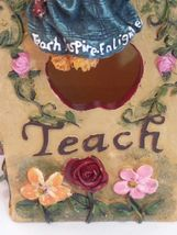 The Bearstone Collection Miss Ann Lighten's Pencil Holder #4016624 Teacher Gift image 7