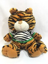 "Vtg Avon Colby Tiger Cat 1992 Squeeze Growls Purrs Plush Stuffed Animal 11"" - $19.79"