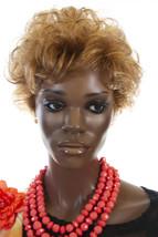 Stella 27 Red Short Jon Renau Wavy Curly Wigs - $113.10