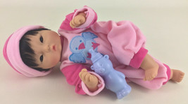 "Corolle Mon Premier Calin Yang Asian 12"" Baby Doll Bean Bag Body Toy Vin... - $74.20"