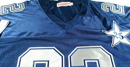 EMMITT SMITH / HALL OF FAME / AUTOGRAPHED DALLAS COWBOYS THROWBACK JERSEY / COA image 6