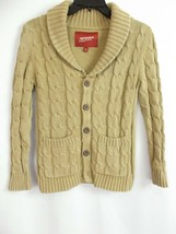 Arizona Jean co girls Cable Knit Sweater Chunky SIZE M 8 preowned! A12 - $10.03