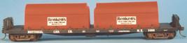 Funaro & Camerlengo HO  Twin Tank Milk Car flatcar series  1459 -1469  Kit 6910 image 2